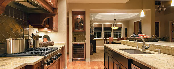 AGH Commercial luxury kitchen