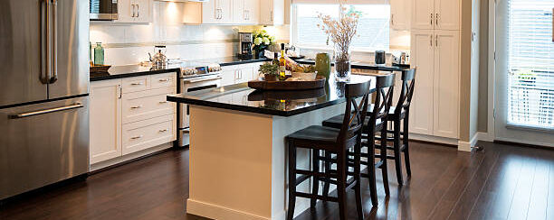 AGH Commercial A modern kitchen / modern accoutrements / and classic styling